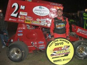 Dustin Daggett Wins 2010 Season Opener