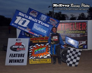 Mitch Brown wins SOD/NRA feature at Montpelier