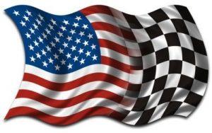 American-checkered flag