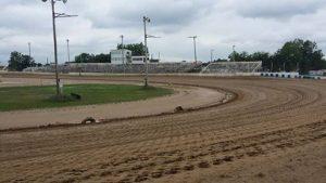 Pre-rain track