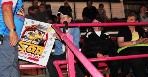 Wayne Landon Honored by Engine Pro SOD presented by ARP at I-96 Speedway