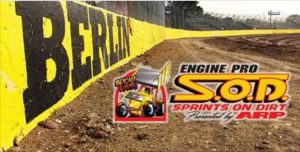 Engine Pro Sprints On Dirt by ARP to race on Berlin Raceway dirt
