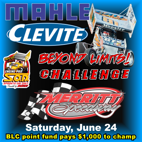 SOD's MAHLE/ Clevite Beyond Limits Challenge Invades Merritt Speedway
