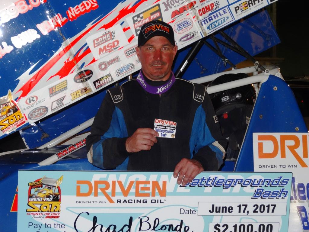 3-peat for Chad Blonde in Driven Racing Oil Butler Bash Win