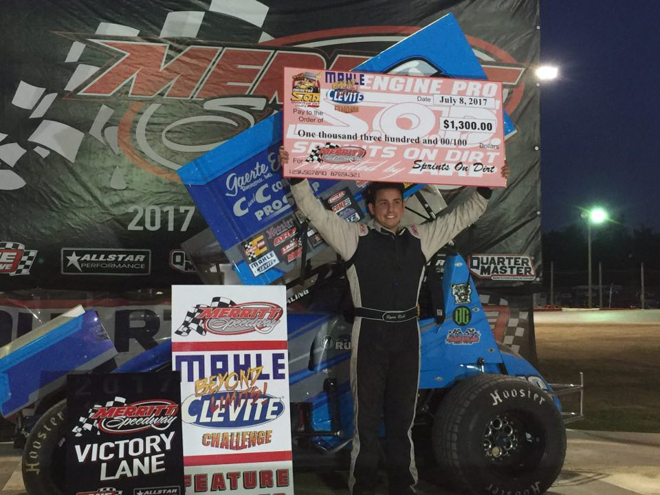 Ryan Ruhl Rules MAHLE/Clevite Beyond Limits Challenge At Merritt Speedway