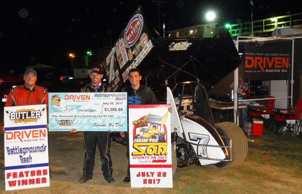 Joe Swanson Tops SOD Driven Racing Oil Battlegrounds Bash at Butler Motor Speedway