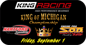SOD King Engine Bearings King of Michigan to be crowned Friday at Hartford