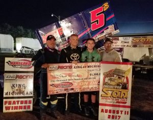 Chad Blonde charges to SOD King Engine Bearings KoM win at Hartford