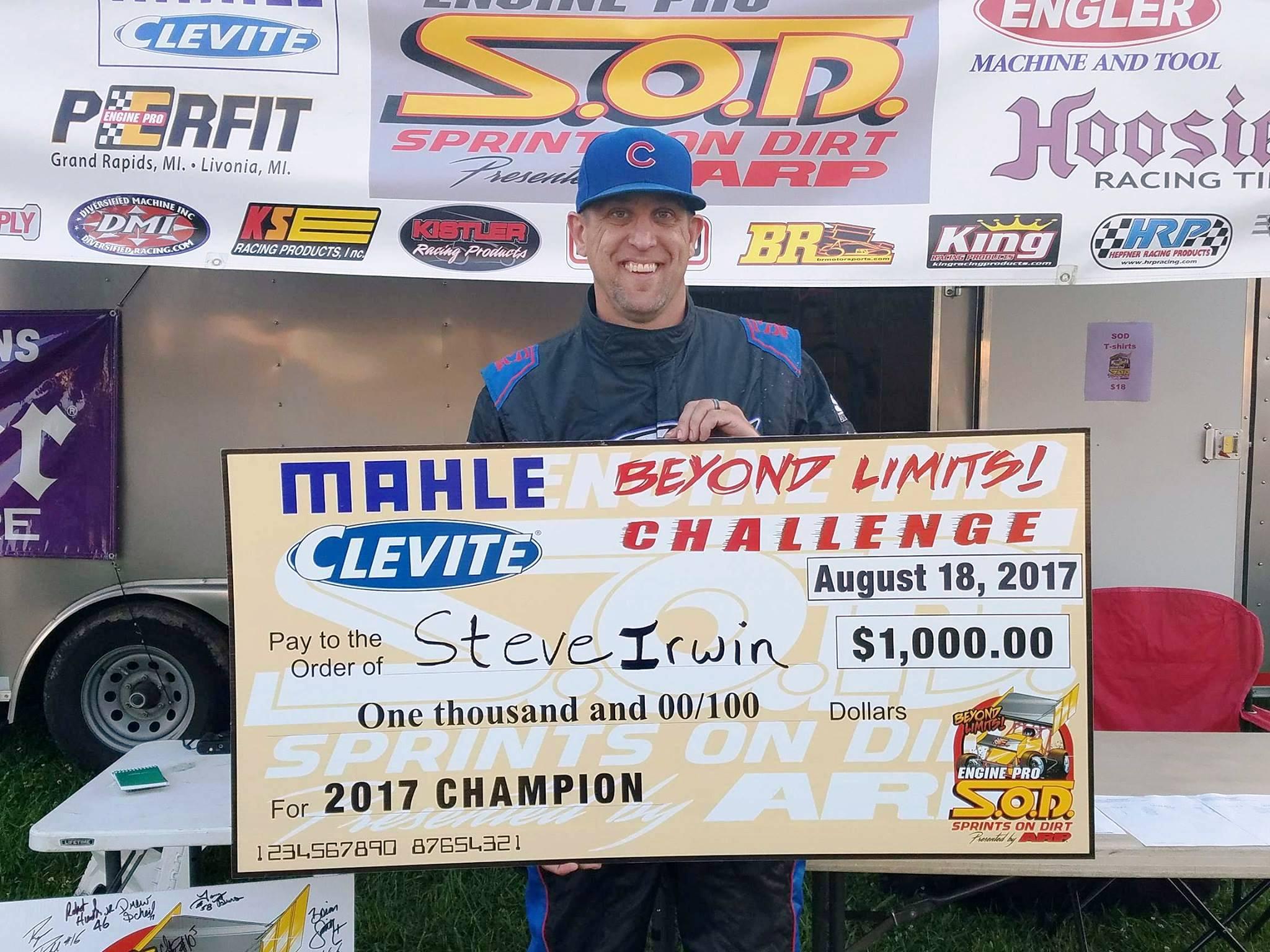 Irwin BLC champ