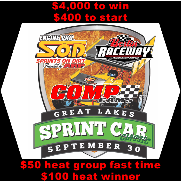 COMP Cams Great Lakes Sprint Car Classic next for SOD