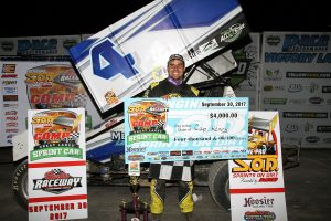 Cap Henry takes SOD COMP Cams Great Lakes Sprint Car Classic