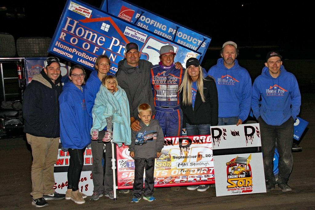 Mad Max Stambaugh takes SOD win at I-96 Speedway